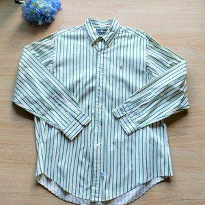 Ralph Lauren 100%Cotton Casual Shirt Long Sleeve
